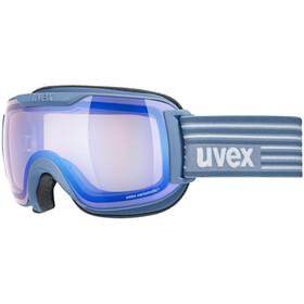 UVEX Downhill 2000 S V Goggles, lagune mat/vario blue mir